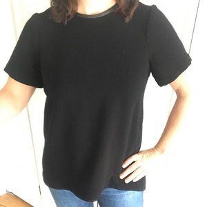 Black Madewell tunic top